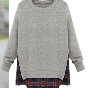 Goodnight Macaroon The Heather Grey Sweater